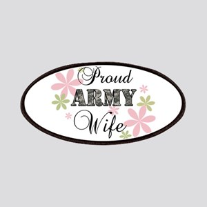 Army Wife [fl camo] Patches